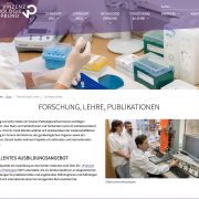 Website Vincent Academy of Pathology by PelikanPubishing
